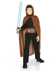 Star Wars™ Jedi Kostüm-Set für Kinder Lizenzware braun