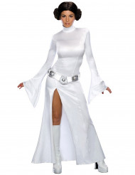 Star Wars™ Prinzessin Leia Damenkostüm Lizenzware weiss