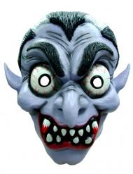 Verrückter Vampir Halloween-Maske Kostüm-Accessoire bunt
