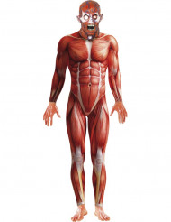 Horror Anatomie Halloween-Kostüm rot