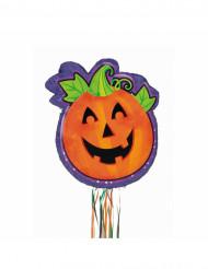 Pinata Halloween-Party Spiel und Deko Kürbis orange 50cm