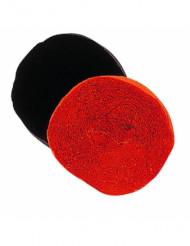 Krepppapier-Rolle Bastelpapier schwarz 25m