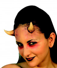 Teufelshörner Halloween Kostümaccessoire rot