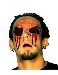 Falsche Wunde Ohne Augen Halloween rot