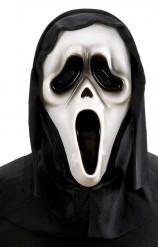 Leuchtende Halloween-Geister-Maske mit Kapuze Farbenwechsel bunt