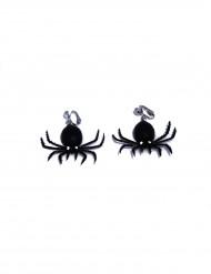 Spinnen-Ohrringe schwarz
