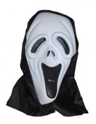 Serienmörder-Maske schwarz weiss