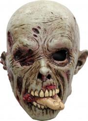 Menschenvertilgender Zombie - Halloween-Maske für Erwachsene