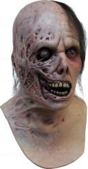 Halloween verbrannter Zombie vollmaske hautfarben