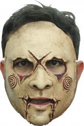 Kultistischer Serienkiller Halloween-Latexmaske hautfarbe