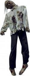 Halloween-Deko Hängender Körper schwarz-grau