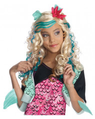 Lagoona Blue Kinderperücke Monster High™ Lizenzartikel blond-türkis