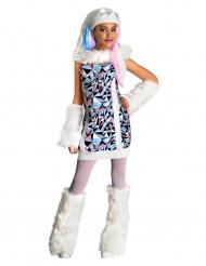 Abbey Bominable Kinderkostüm Monster High™ Lizenzkostüm weiss-rot-blau