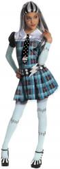 Frankie Stein Kinderkostüm Monster High-Lizenzkostüm türkis-schwarz-weiss