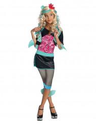 Lagoona Blue Kinderkostüm Monster High Lizenzkostüm schwarz-pink-türkis