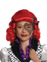 Monster High™ Operetta Halloween-Perücke für Kinder Lizenzartikel rot-schwarz