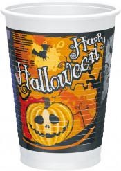 Halloween-Partybecher Happy Halloween 10 Stück bunt 200ml