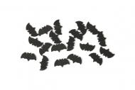 Fledermaus Konfetti Halloween-Deko schwarz 10g