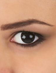 Schwarze Kontaktlinsen schwarz