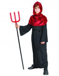 Dämon Halloween-Kinderkostüm Teufel rot-schwarz