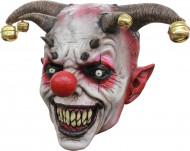 Maske Dämonischer Narr - Hand bemalt