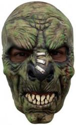 Grünes Monster Halbmaske für Erwachsene