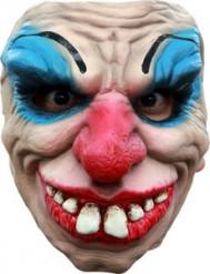 Gruselige Clownsmaske für Erwachsene