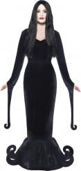 Herzogin Vampirin Halloween Damenkostüm schwarz