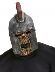 Römischer Soldat Skelett Halloween Horror Maske grau-rot