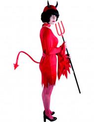 Roter Teufelsschwanz für Erwachsene rot