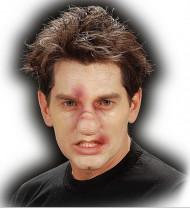 Gebrochene Nase Latex-Applikation hautfarben