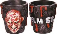Freddy Krueger™ Schnapsgläser Horror-Shotgläser 2 Stück schwarz-rot-weiss 5x5cm