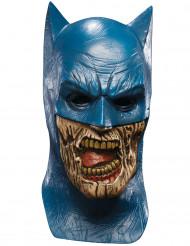 Zombie Batman Maske - Blackest Night Lizenzartikel Halloween blau-beige