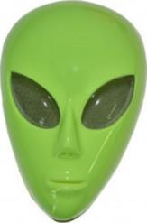Alien Maske Ausserirdischer grün