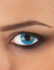 Kontaktlinsen Galaxie blau