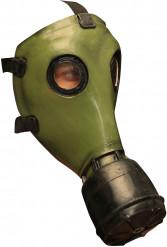 Grüne Gasmaske