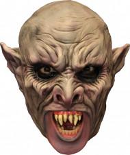 3/4 Vampirmaske Halloween Maske mit Gebiss hautfarben