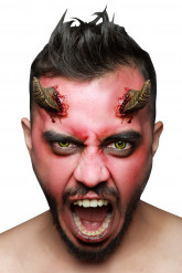 Kunsthörner Teufel braun