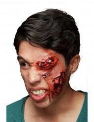 Falsche Augenverletzung rot