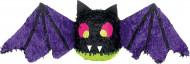 Süsse Pinata Fledermaus Halloween Party-Spiel schwarz-lila 30,5x96,5cm
