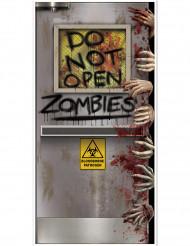 Zombie-Labor Halloween-Türposter Partydeko bunt 76x152cm