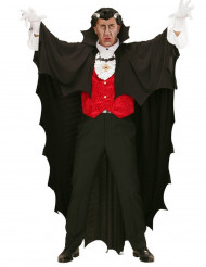 Vampir-Umhang schwarz 150cm