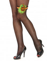 Frauen Kürbis Strumpfhalter für Halloween