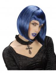 Gothic Kreuz Kette mit Halsband schwarz