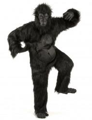 Wütender Gorilla Halloweenkostüm schwarz