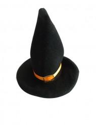 Deko-Hexenhüte Halloween-Tischdeko 2 Stück schwarz-orange