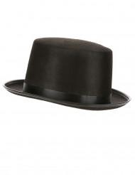 Edler Zylinder mit Hutband schwarz
