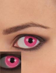 UV Kontaktlinsen Schwarzlicht pink