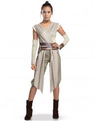 Star Wars™ Rey Deluxe Damenkostüm Lizenzware beige-braun