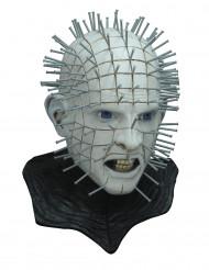 Halloween Pinhead Hellraiser Horror-Maske Lizenzartikel grau-schwarz
